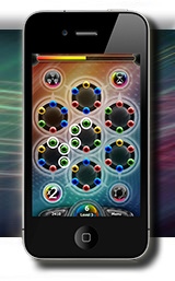 Spinballs on a windows mobile device